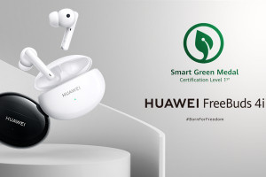 Huawei FreeBuds 4i получи зеления сертификат на SGS - Smart Green Certification