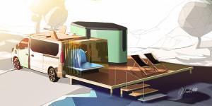 Hippie Caviar Hotel: визията на Renault за 5-звездно бягство