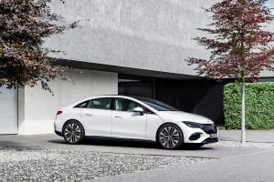 Новият EQE - Прогресивният бизнес електромобил на Mercedes с пробег от 660 км