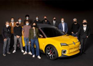 Renault 5 Prototype  печели награда за концептуален автомобил на годината