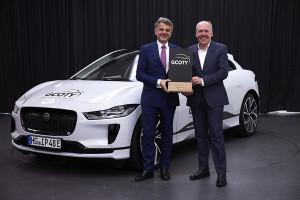 Първият изцяло електрически Jaguar I-PACE е Автомобил на годината в Германия за 2019 г.