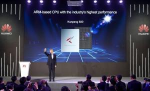 Huawei представя ултра високoпроизводителен АRM-базиран процесор