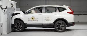 Новият модел Honda CR-V с отлична оценка по безопасност от Euro NCAP