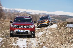 Свободата да избираш маршрута с Dacia Duster