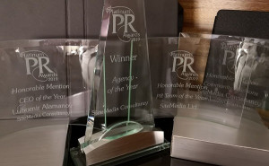 Българска компания бе обявена за ПР Агенция на годината за цял свят на Platinum PR Awards 2019 на PR News